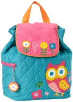 Pretty Quilted Backpack for Girls