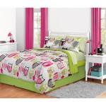 Twin Bed Owl Comforter Set