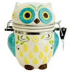 Delightful Hand Painted Kitchen Canister
