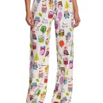 Pretty Owl Pajama Pants for Women