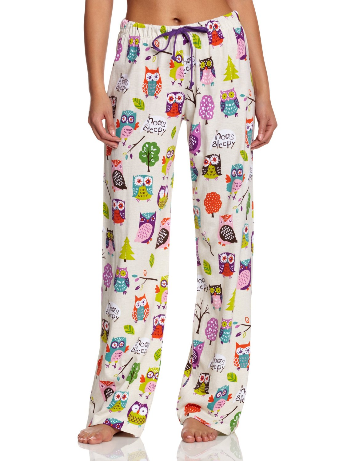c6f59a6d8a9a Pretty Owl Pajama Pants for Women • Owl Delights