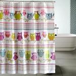 Pretty Shower Curtain for Kids Bathroom