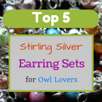 Top 5 Stirling Silver Earring Sets for Owl Lovers