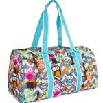 Trendy Overnight Bag for Owl Lovers