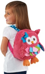 Adorable Small Owl Backpack for Toddlers