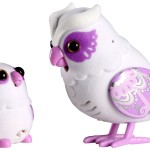 Interactive Talking Owl and Baby Toy Set