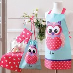 Owl Inspired Kids Apron & Chef Set