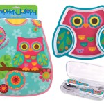 Owl Theme Toddler Meal Gift Set