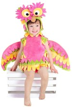 Pink Owl Costume for Toddlers