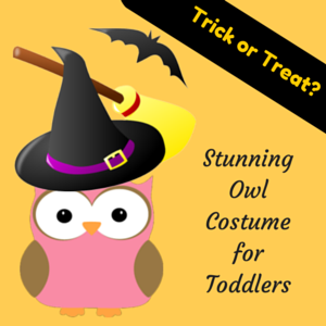 Stunning Owl Costume for Toddlers