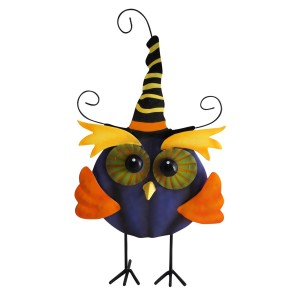 Cute Witch Owl Halloween Decoration