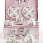 Little Owls Childs Porcelain Tea Set with Case