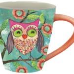 Microwave Safe Owl Coffee Mug with Large Handle